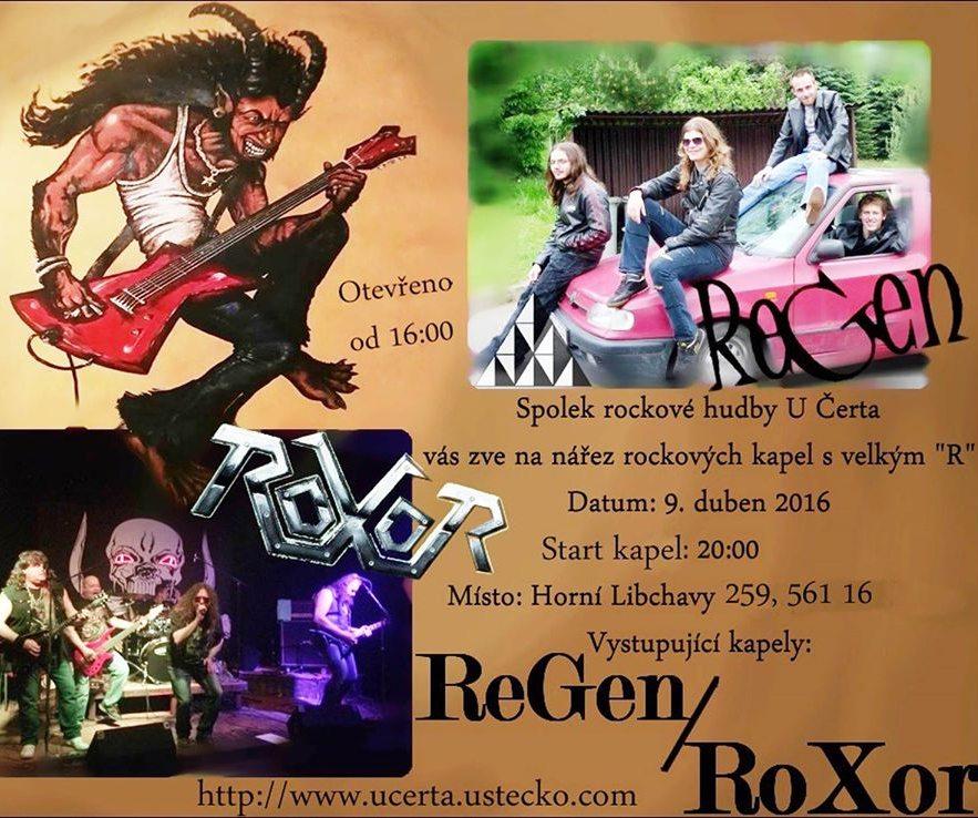 ROXOR + REGEN VYRÁŽÍ DO LIBCHAVY !!